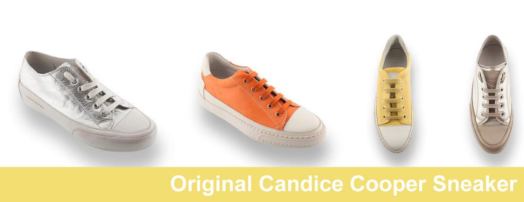 Candice Cooper Sneaker trägt man immer gerne das ist Sommerfeeling pur.